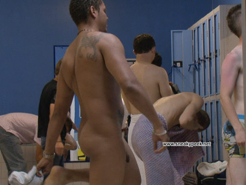 On the snapshot from gay spy video from male changing rooms I got a nice ...