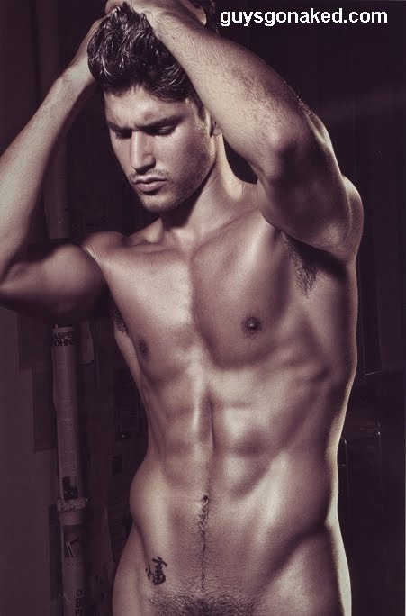 stunning muscle man