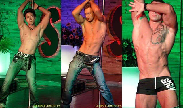 male striptease show from Nudemaledancers
