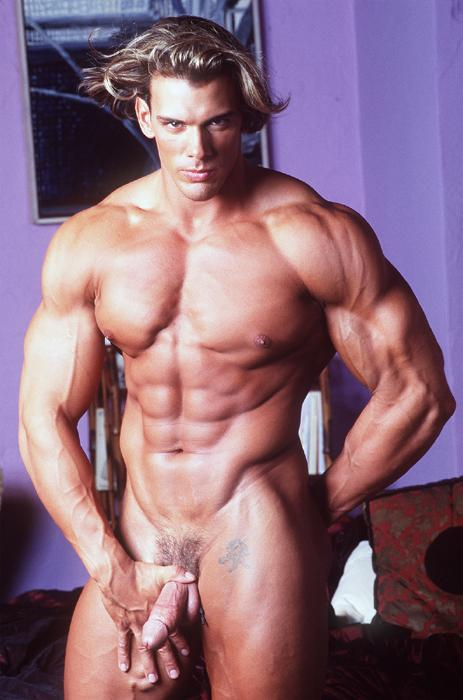 muscle man huge dick