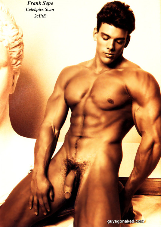 extremely handsome muscle man naked