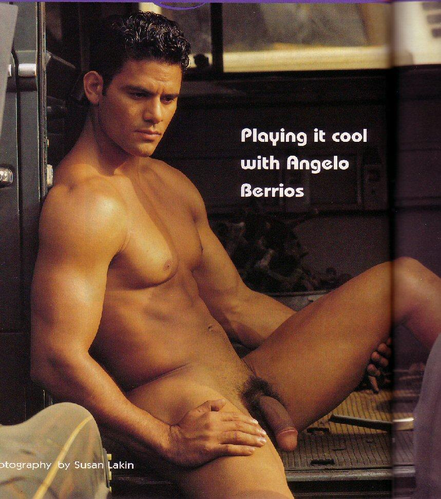 naked man Angelo Berrios