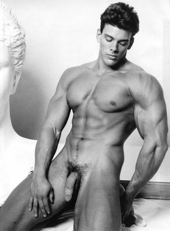 stunning muscle man