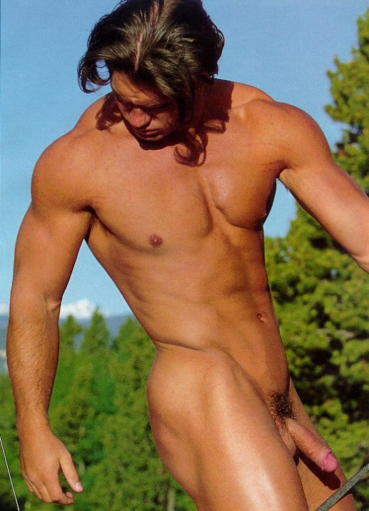 Chad Ullery playgirl model
