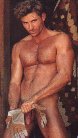 sexy hairy man naked