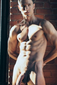 Beautiful muscle guy naked