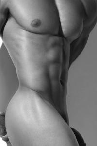 Hot man naked