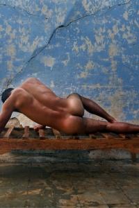 Sexy male butt
