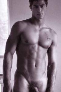 Stunning male model naked