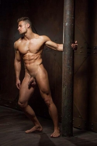 Stunning man naked
