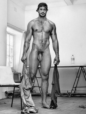 charming hunks naked