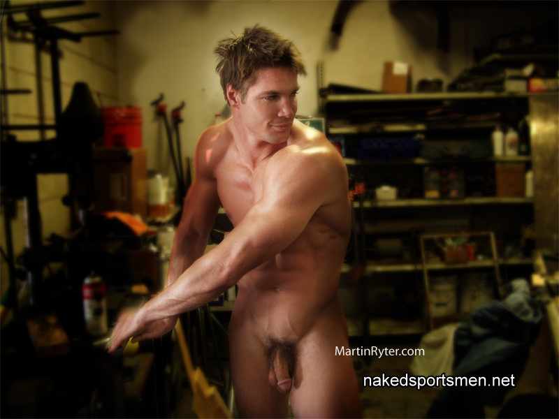 handsome man naked