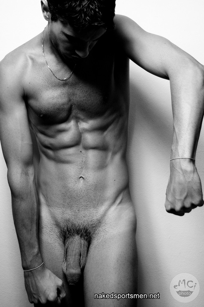 muscle man naked