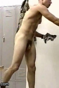 Male locker room nudity