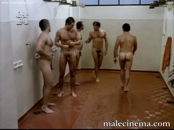 men in showers hidden cam