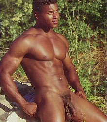 black muscle man huge dick